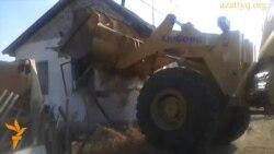 """Снос дома в Астане под """"государственные нужды"""""""