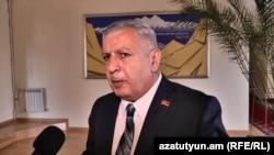 Депутат НС Сергей Багратян (фракция «Процветающая Армения»)