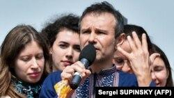 Святослав Вакарчук під час презентації політичної партії «Голос», Київ, 16 червня 2019 року