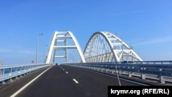 The Kerch Straight bridge