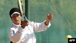 ارغوان رضایی، در زمانی که در سال 2005 میلادی برای مسابقات زنان مسلمان به تهران رفته بود.