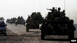 Грузия: орус аскерлери, 22-август, 2008-жыл