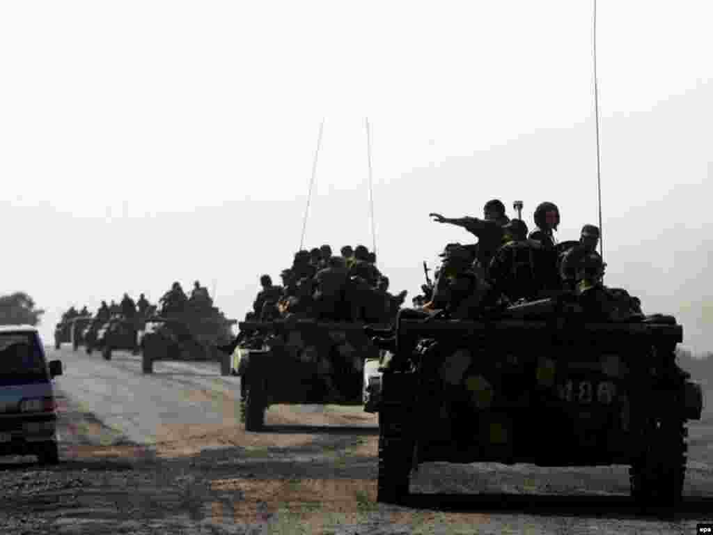 Вывод вооруженных сил РФ из Грузии, Эгоэти, 22 августа 2008