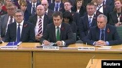 Керівники спеціальних служб Великобританії на слуханнях у Парламенті
