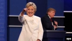 Хиллари Клинтон, кандидат в президенты США от Демократической партии. Лас-Вегас, 19 октября 2016 года.