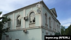 Крым татар межлиси жайгашкан имарат. Симферополь.