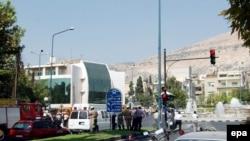 Посольство США в Дамаске, 12 сентября 2006