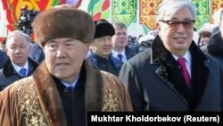 Нурсултан Назарбаев и Касым-Жоомарт Токаев