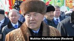 Қазақстанның тұңғыш президенті Нұрсұлтан Назарбаев.