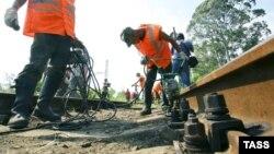 Վերանորոգման աշխատանքներ աբխազական երկաթուղու Սուխումի - Օչամչիրա հատվածում, արխիվ