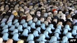Під час традиційної п'ятничної молитви у Тегеранському університеті. 26 червня 2009 р.