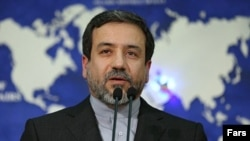 Iranian Deputy Foreign Minister Abbas Araghchi, who is on Iran's negotiating team