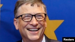 Білл Ґейтс, фото 22 січня 2015 року