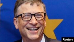 Microsoft корпорациясының негізін қалаушы Билл Гейтс.