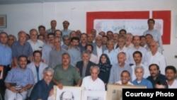 عکس گروهی اعضای نهضت آزادی