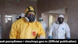 Кадыров Рамзан коронавирусах нахана дарбадечу хIусамехь