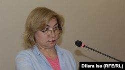 Нуржамал Болегенова, специалист центра судебно-медицинской экспертизы. Шымкент, 10 мая 2018 года.