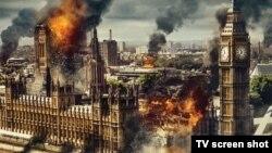 """Кадр из кинофильма """"Падение Лондона"""". Принесет ли будущее подобные катастрофы – или окажется более спокойным?"""