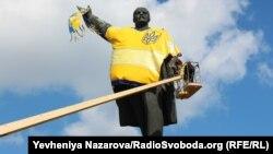 Пам'ятник Леніну у Запоріжжі. Вересень 2015 року