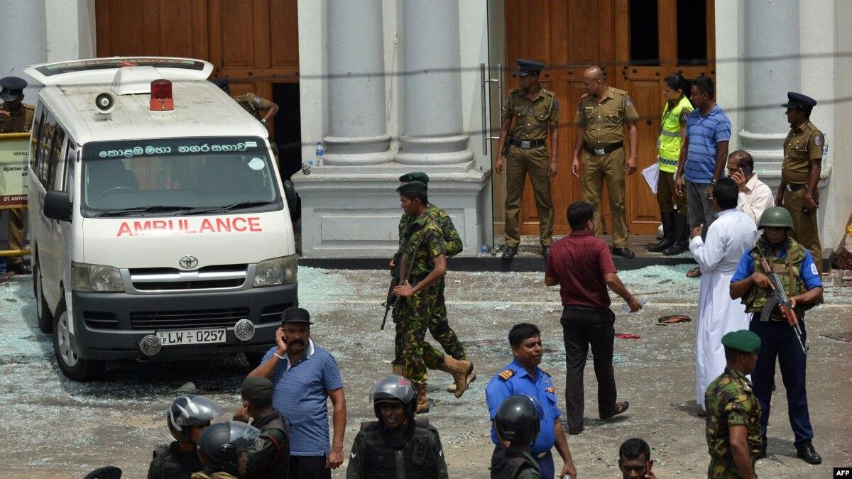 """Ответственность за взрывы на Шри-Ланке несет """"Джамаат ат-Таухид аль-Ватания"""" - власти"""
