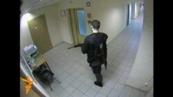 Security Footage Shows Moscow Man On Shooting Spree