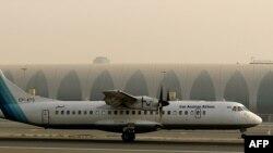Aseman Airlines компаниясының ATR-72 жолаушылар ұшағы. Дубай әуежайы, 29 шілде 2008 жыл