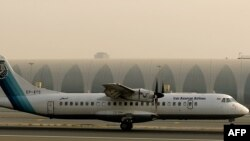 The ill-fated plane is said to have been an ATR aircraft belonging to Aseman Airlines. (file photo)