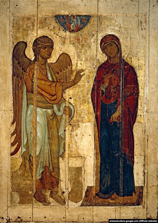Ікона «Корсунське Благовіщення» – ікона Благовіщення Пресвятої Богородиці, написана близько 1022 року в Корсуні або в Києві. Одна з небагатьох ікон України-Русі, що збереглись із домонгольського періоду