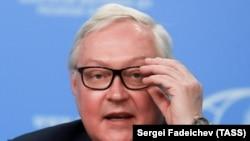 Заместитель министра иностранных дел России Сергей Рябков. Москва, 26 ноября 2018 года.