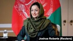 رویا رحمانی سفیر افغانستان در امریکا