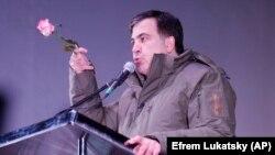 Ish-presidenti i Gjeorgjisë dhe ish-guvernatori i Odesës,Mikheil Saakashvili.