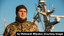 Дамир Аулин, старший лейтенант ВМС Украины