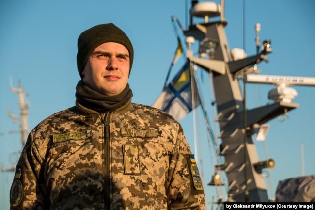Дамір Аулін, старший лейтенант ВМС України