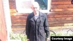 Сергей в момент освобождения из колонии