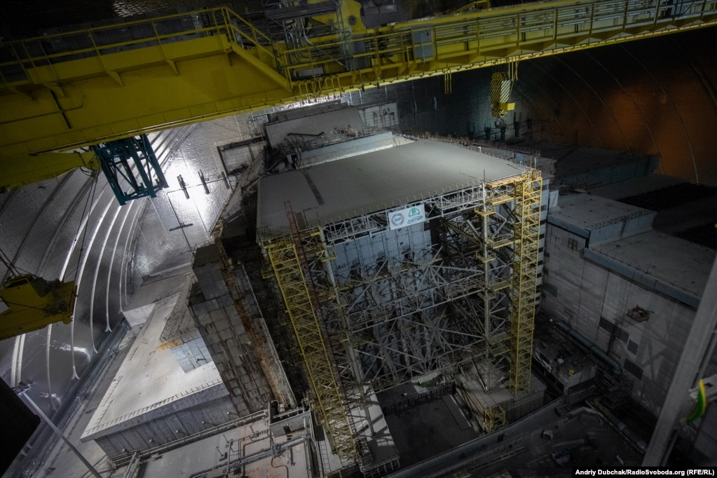 Under The Shield: Inside Chernobyl's New Safe Confinement