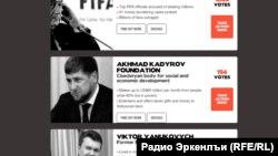 Transparency International сайтан агIонан даьккхина сурт.