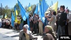Накануне в Крыму отметили 65-летие депортации татар