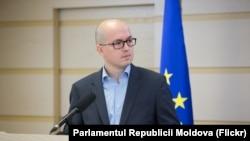 Europarlamentarul Andi Cristea la Chișinău, 5 aprilie, 2018