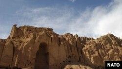 جای خالی یکی از مجسمههای بودا در دره بامیان افغانستان