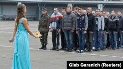 Прызыў ва ўкраінскае войска. Архіўнае фота