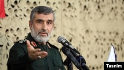 General Amir-Ali Hajizadeh, Commander of the Revolutionary Guards Aerospace Force says Iran launched a cyberattack against U.S. monitoring systems on Tuesday. January 9, 2020