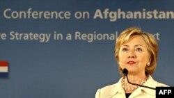 وزیر امور خارجه آمریکا می گوید: حضور ایران در کنفرانس لاهه، «نشانه ای از تمایل این کشور برای همکاری در آینده است.»