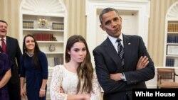 Iамерка -- Цхьаьнатоьхначу Штатийн президент Обама Барак (аьтто), КIайн ЦIа.