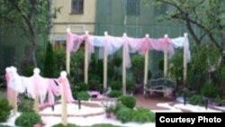 """Самый радикальный проект нынешней «Недели садов» — «Розовый сад». [Фото — <a href=""""http://museum.ru"""" target=_blank>Музеи России</a>]"""
