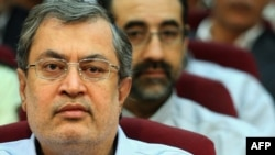 Said Hajarian during a revolutionary court hearing in Tehran on August 25