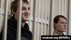 Зьміцер Дашкевіч і Эдуард Лобаў