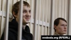 Дмитрий Дашкевич и Эдуард Лобов в зале суда