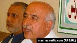د بلوچستان وزیراعلی ډاکټر مالک بلوڅ