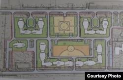 Попередній план майбутнього житлового комплексу