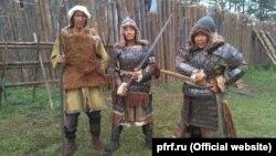 """Съемки якутского исторического боевика """"Тыгын Дархан"""""""